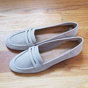 Lucky brand loafer shoes grey (new w/o tags)